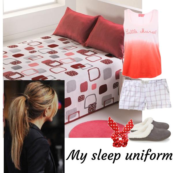 My sleep uniform