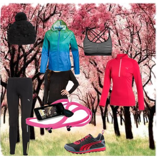 set na podzimní běh