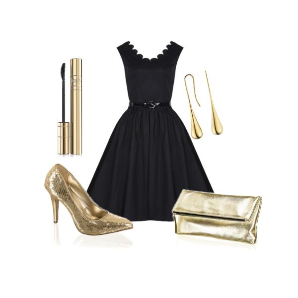 Černo-zlatá