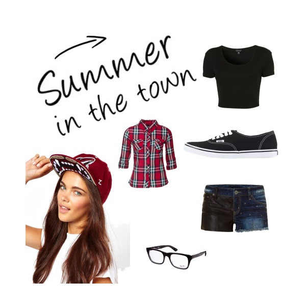 Summer in the town