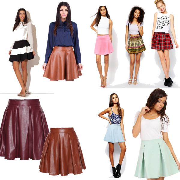 Skate sukně