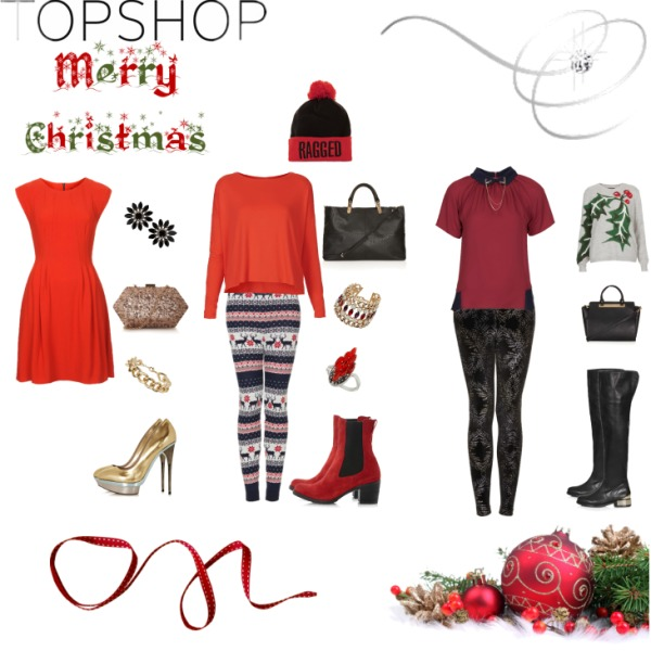 Christmas in Topshop