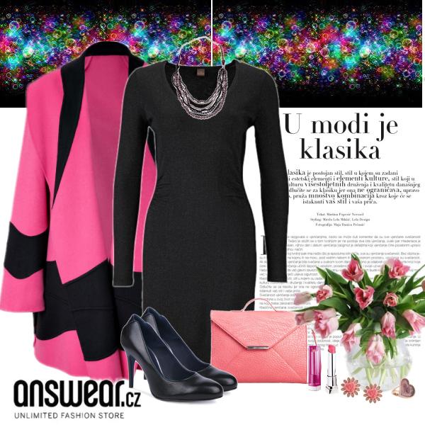 pink answear