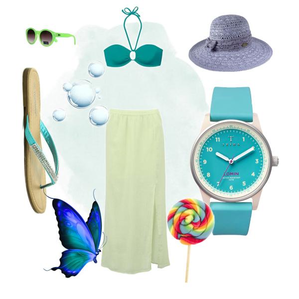 plážový outfit