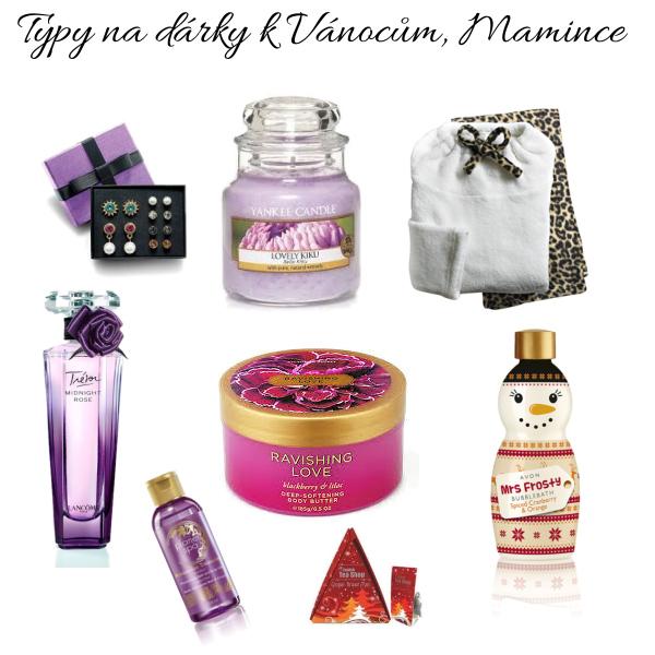 Typy na dárky k Vánocům mamince♥