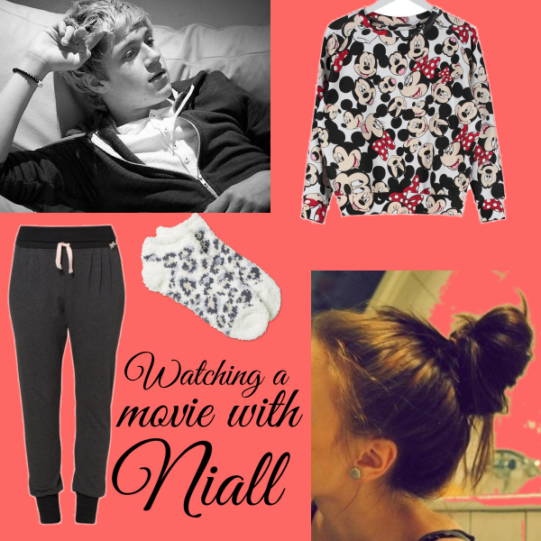 watching movie with niall