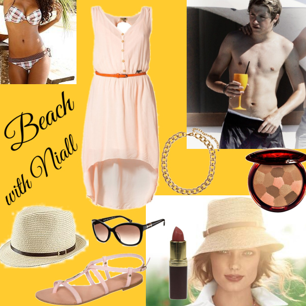 Beach with niall
