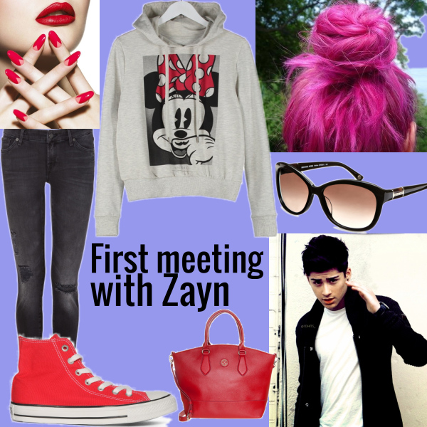 First meeting with zayn