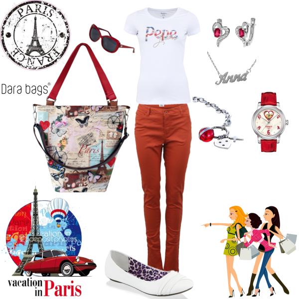 I love Paris, I love Dara Bags! ♥