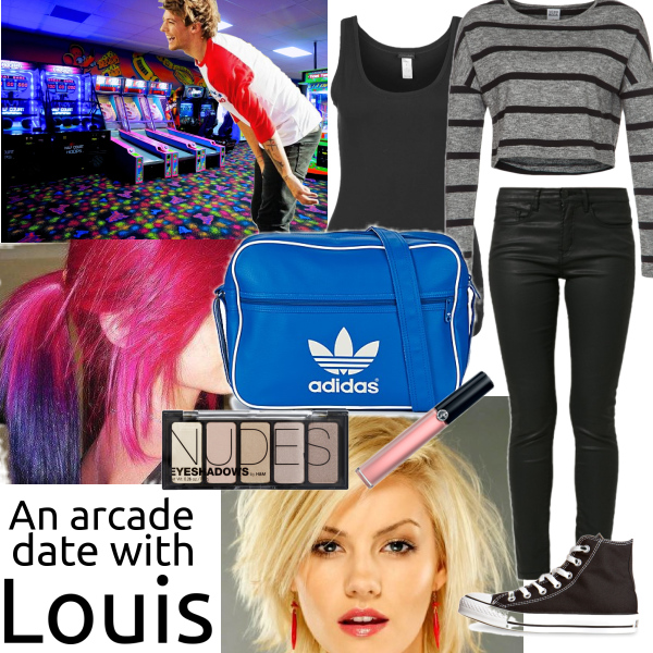 Arcade Date with Louis