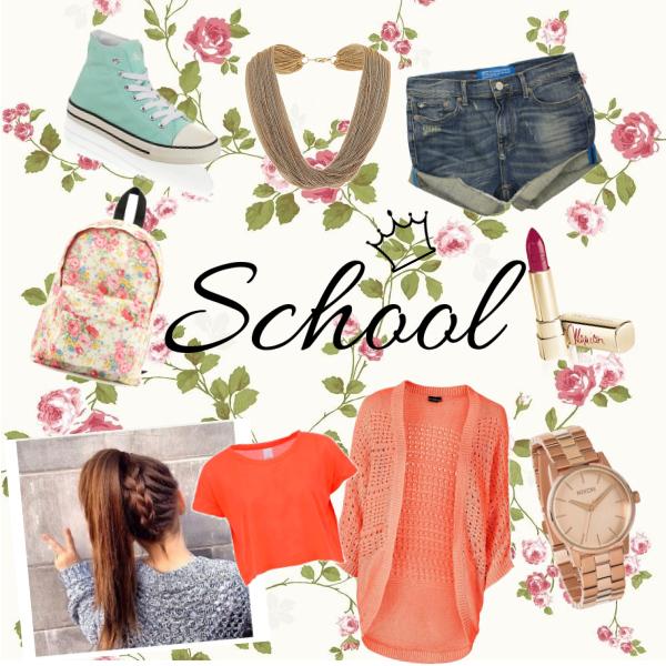 :)) School set :))