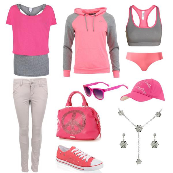 back to summer-pink set