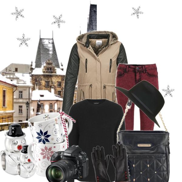 Vánoční nákupy v Praze