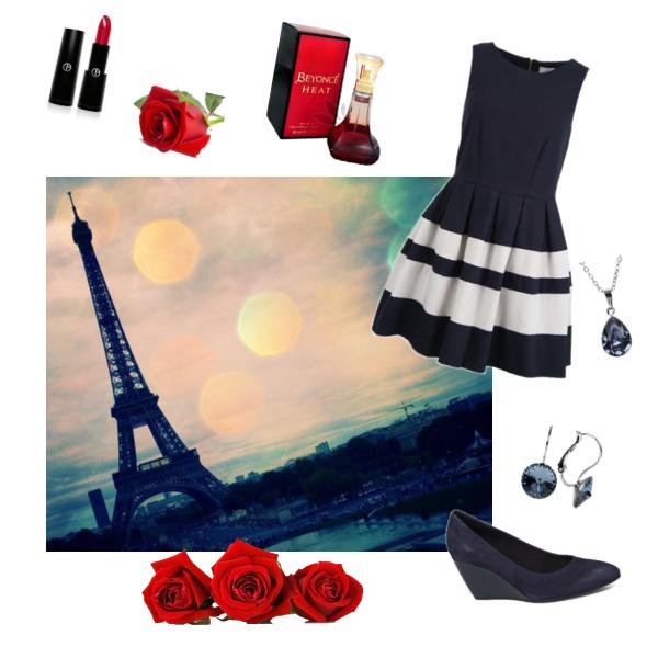 večer v Paříži