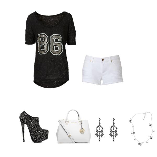 černobílá moda