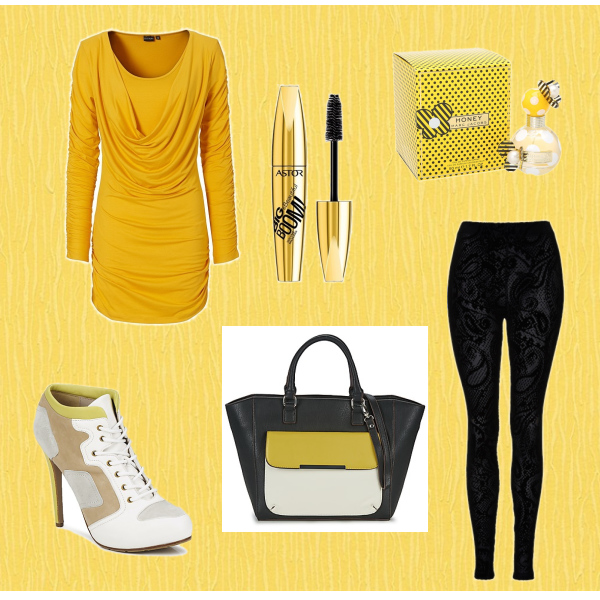 žluto bíla x černá romantika
