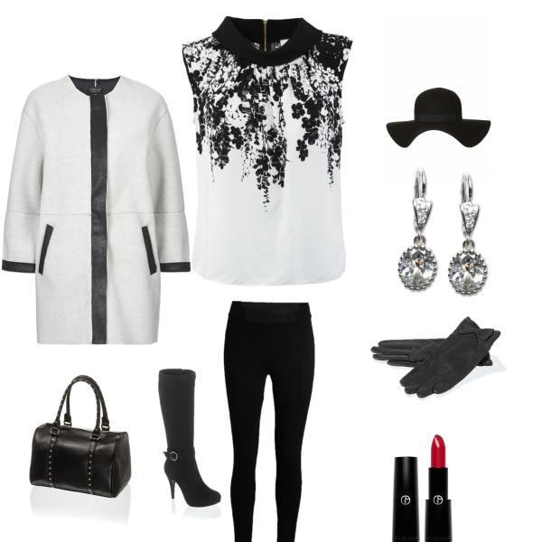 Bílo-černý