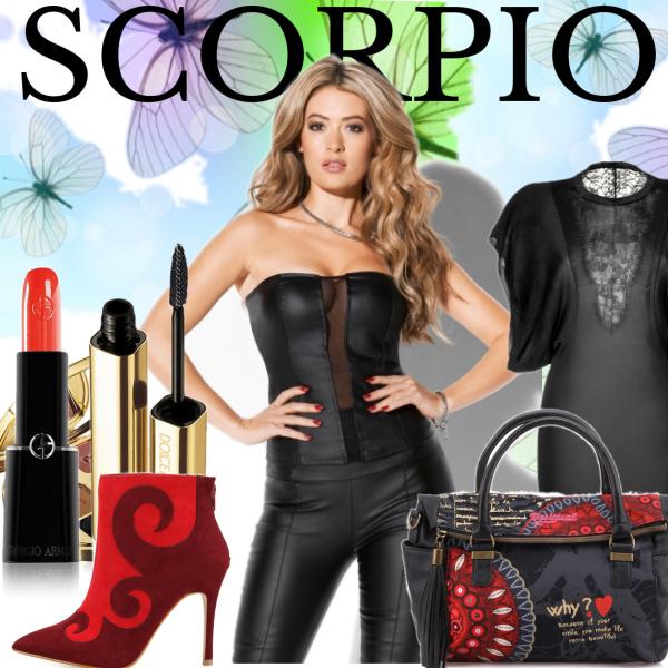 Štír - Scorpio (23. říjen - 22. listopad)