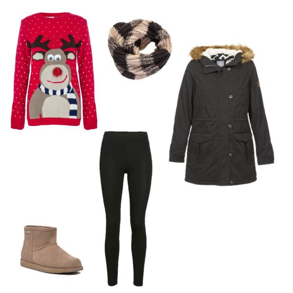 Obyčejný zimní outfit