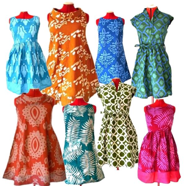 Fair trade šaty z Ghany