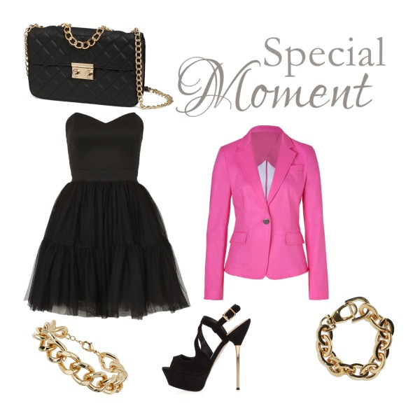 Black&Pink&Gold set