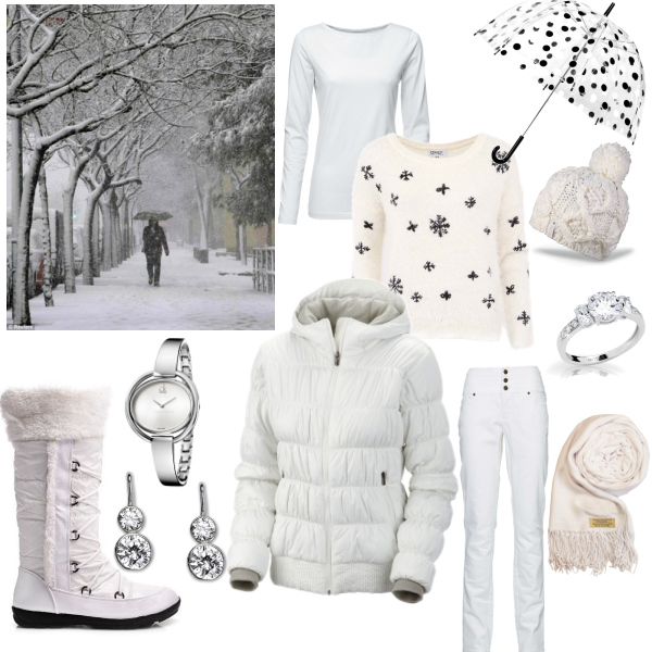 Zima bílá