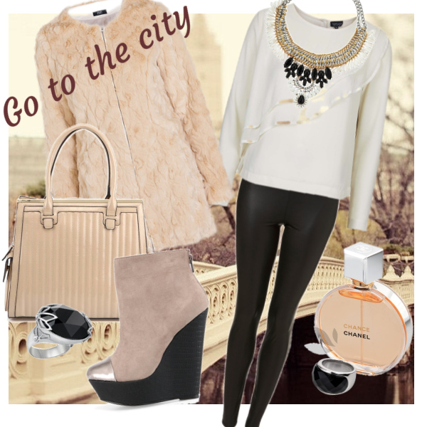 Go to the city