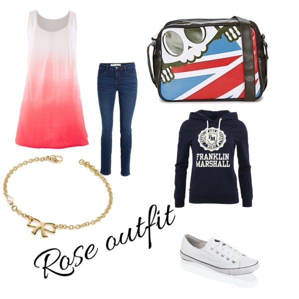 Rose outfit