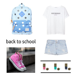 Tenue BACK TO SCHOOL sur footshopfr