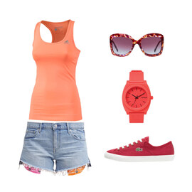 Outfit Top und Shorts von Ele - Fashion Addict