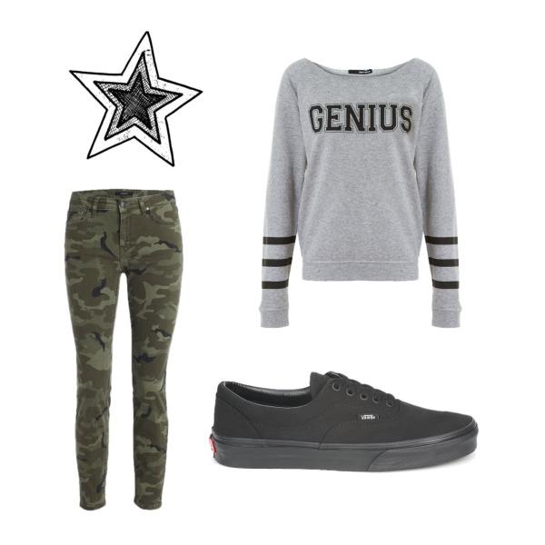 Genius , Vans , Army :3