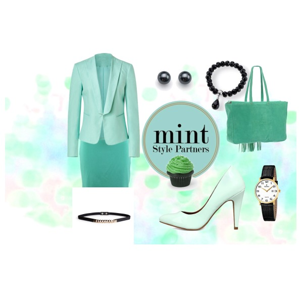 mint and nightstick