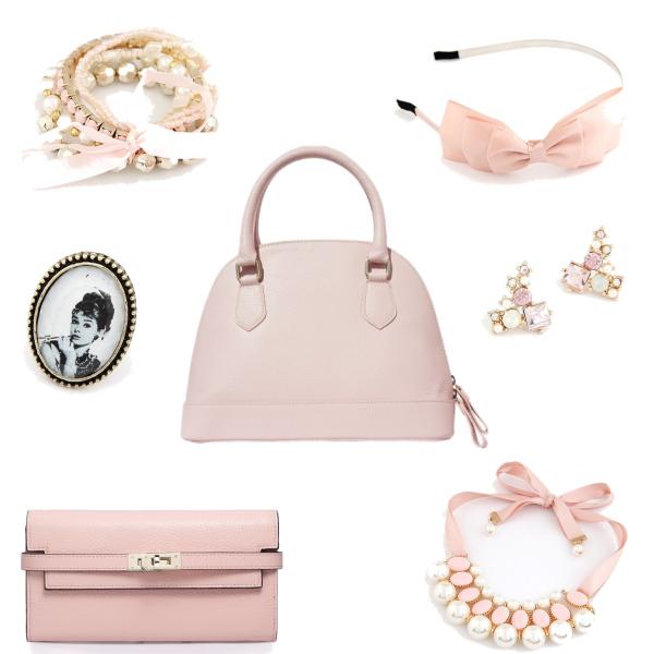 Růžová kolekce - Bagisimo