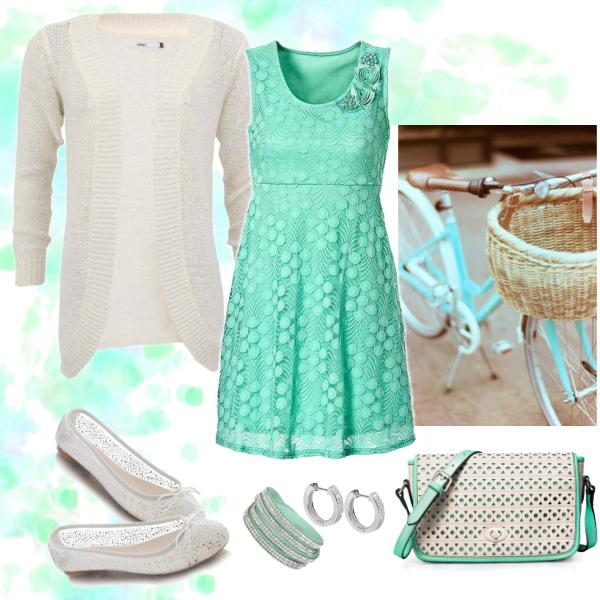Mintkové šaty#2