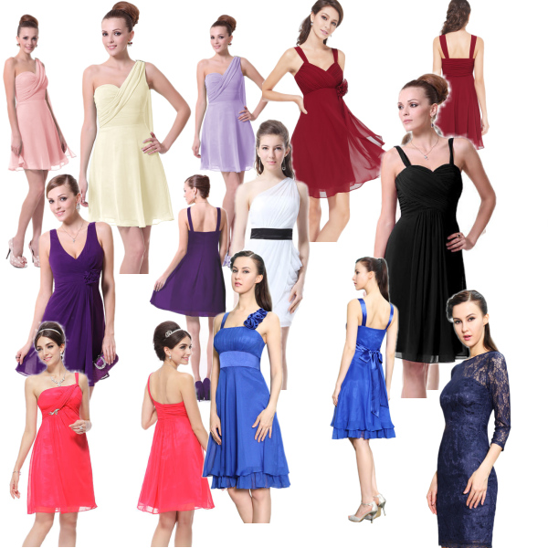 Nová kolekce krátkých společenských šatů je skladem!