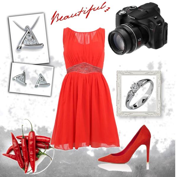Sexy červená