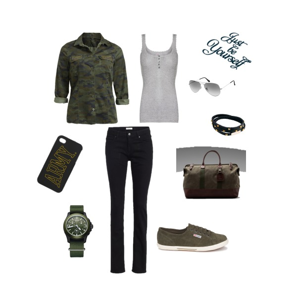 Army style!