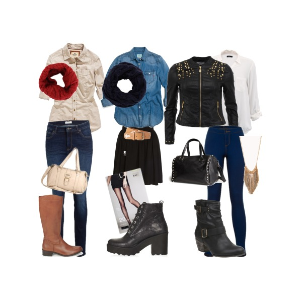 Three outfits