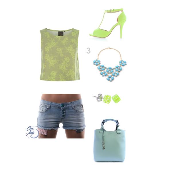 zelenomodrá moda