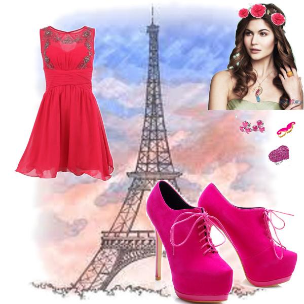 pink v Pariži