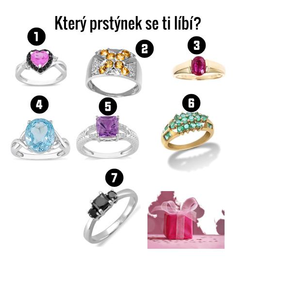 Který prstýnek se ti líbí