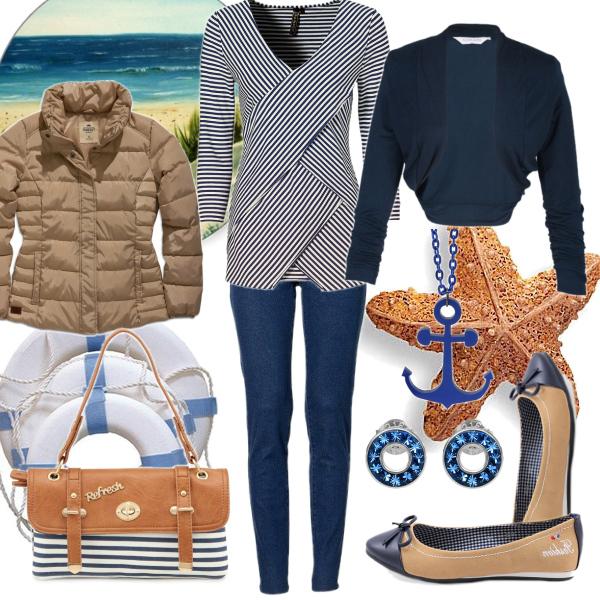 Námořnický outfit