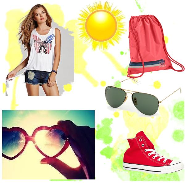Simple summer look