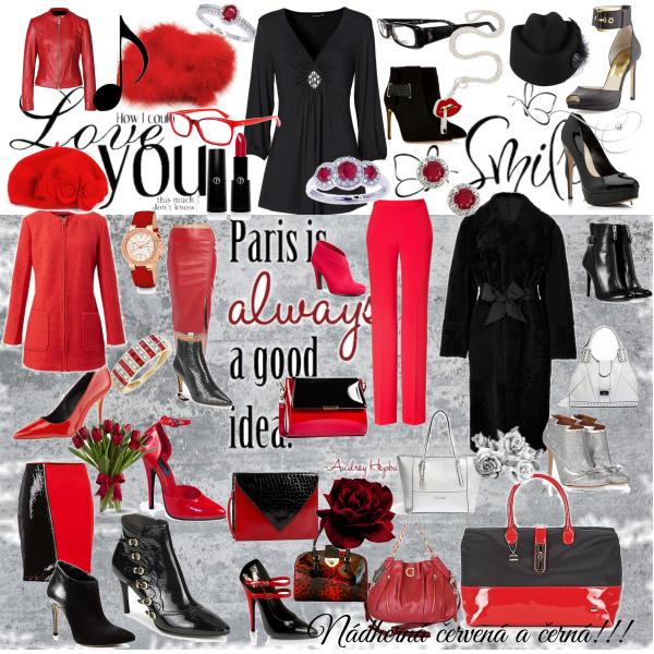 Červená a černá!