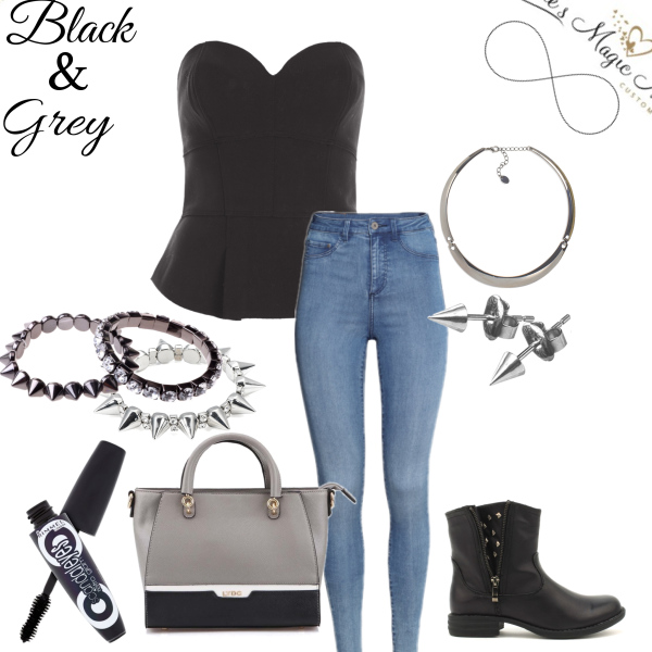 Black&Grey outfit <3