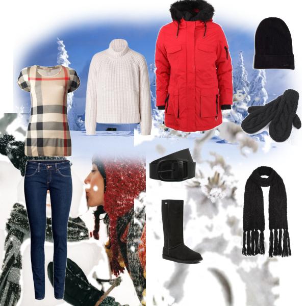 Jednoduchý set na zimu