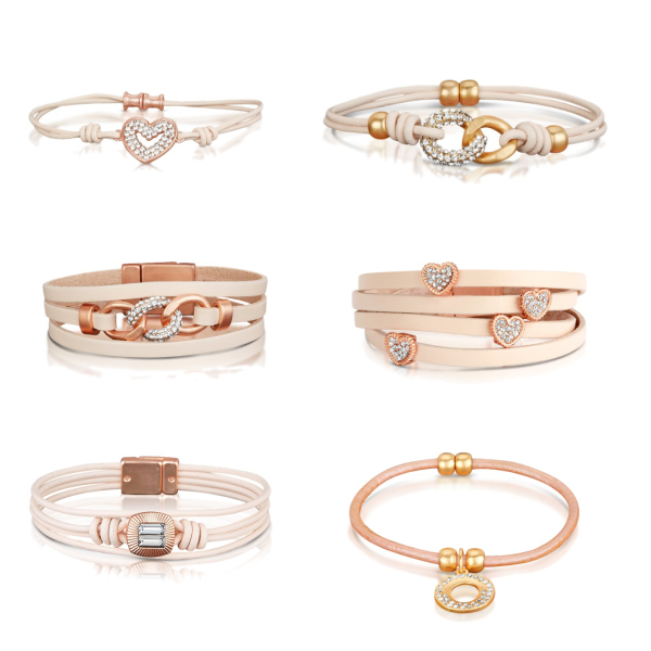 Rose & Gold & Pink selection
