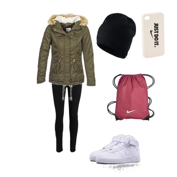 Stylový zimní outfit