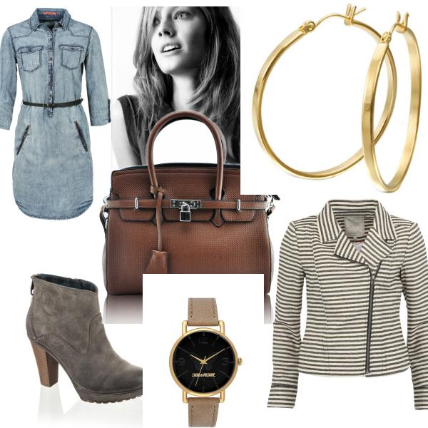 Jeans šaty