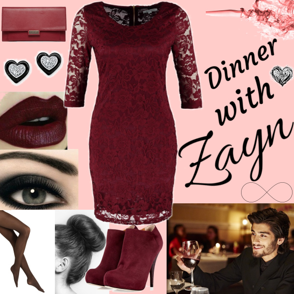 Dinner with zayn